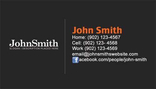 Personal Business Cards | Personal Cards Design And Printing