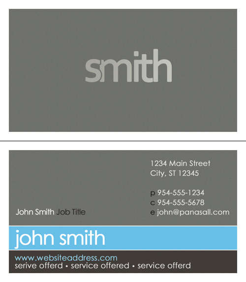 Business Card Templates Order Business Cards Panasall - Business cards templates illustrator